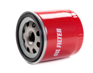 bigstock-New-Oil-Filter-Car-In-Red-Stee-38451721